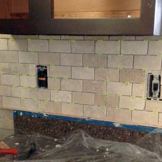 Installing Kitchen Tile Backsplash