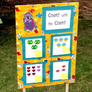 8 DIY Sesame Street Games for Kids