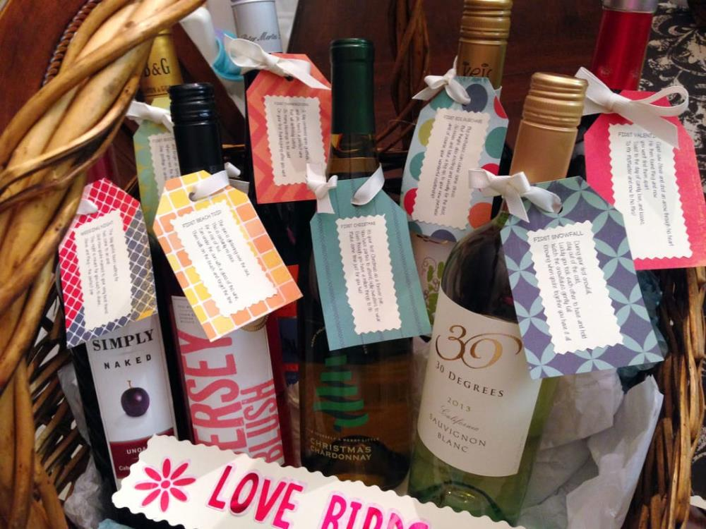 How to Make a Wedding Wine Basket - Best DIY Projects