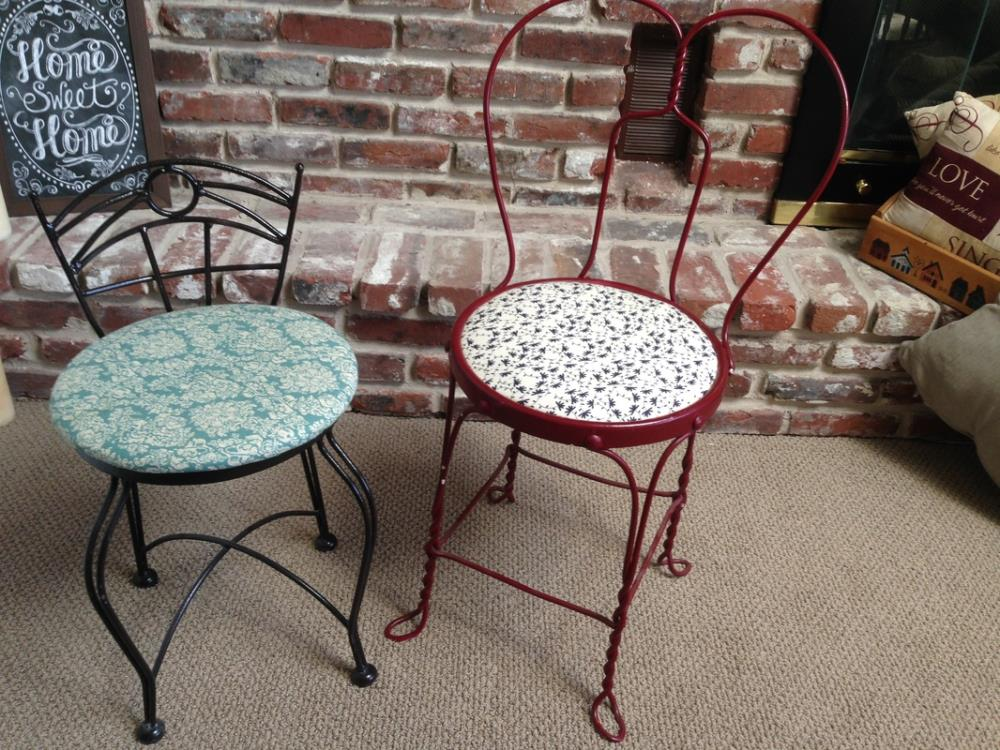 Fixing up old chairs