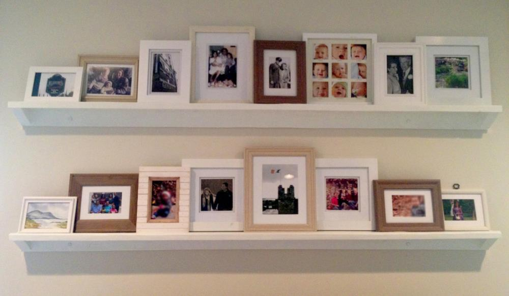 Picture Ledge for picture frames