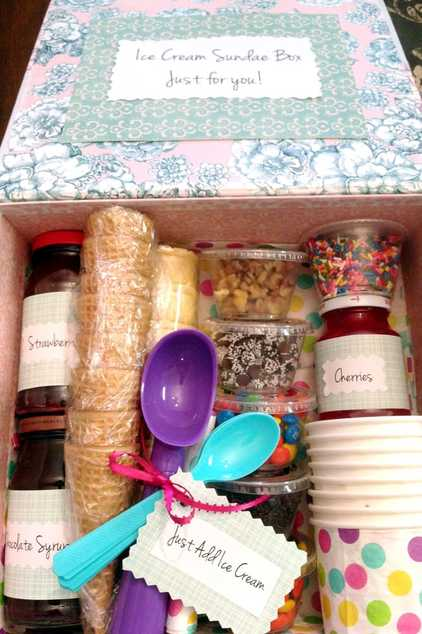 How to Make an Ice Cream Sundae Gift Box - Best DIY Projects