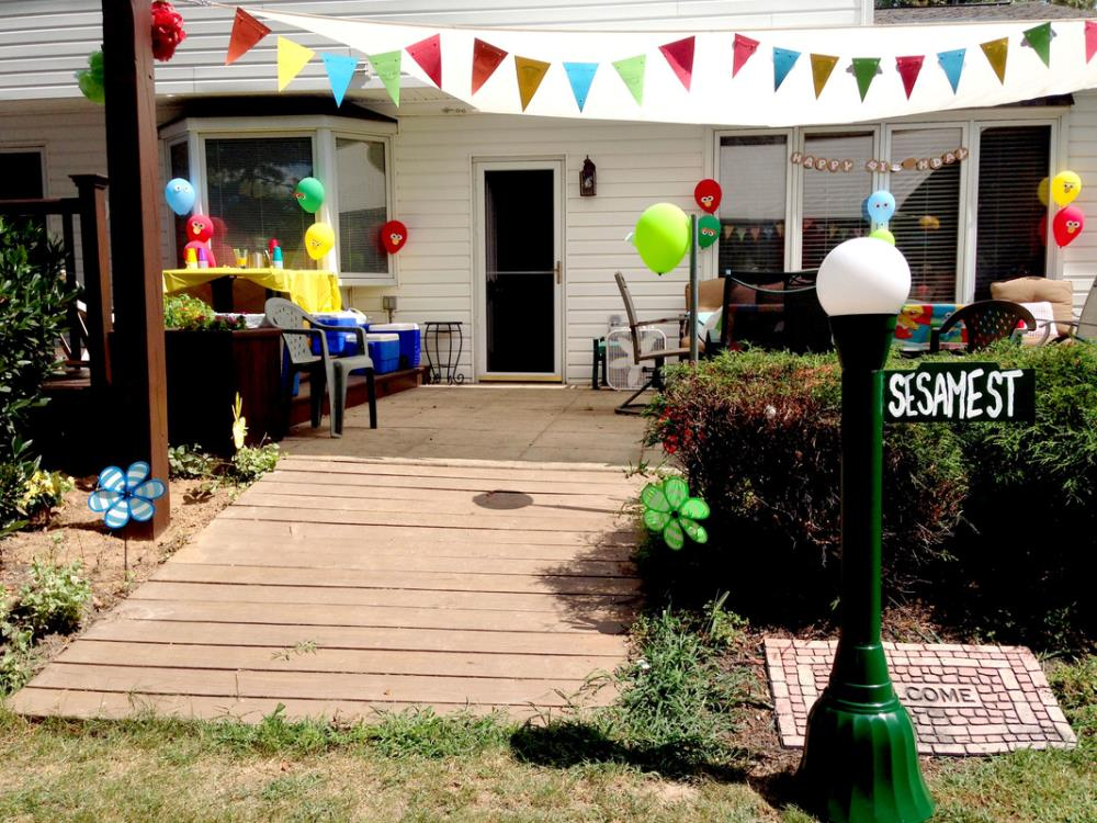 best Sesame Street party