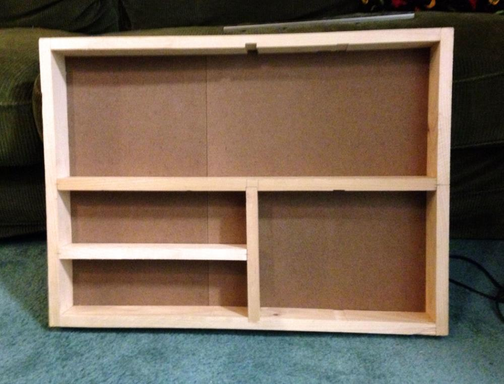 Building a spice rack