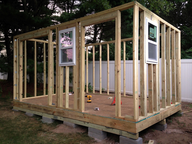 How to Build a DIY Storage Shed from Scratch - Step-by ...