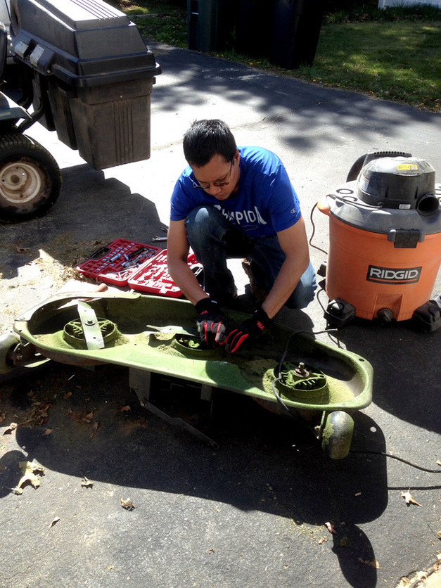 How to fix the mower