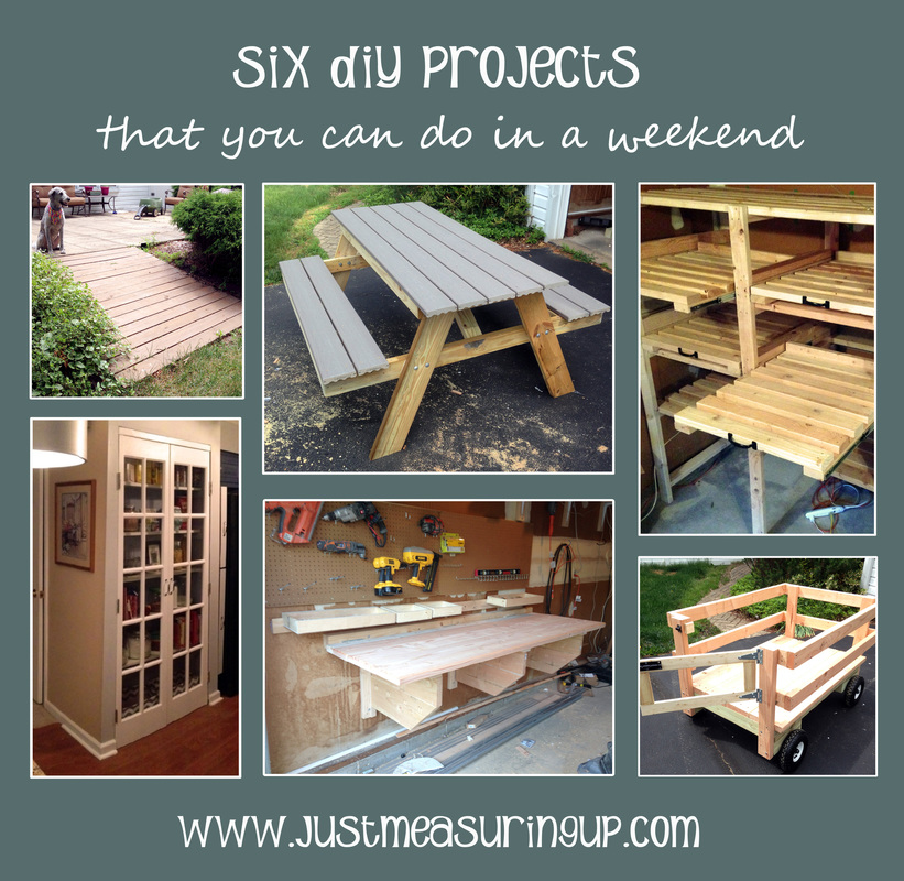 Six projects you can complete in one weekend