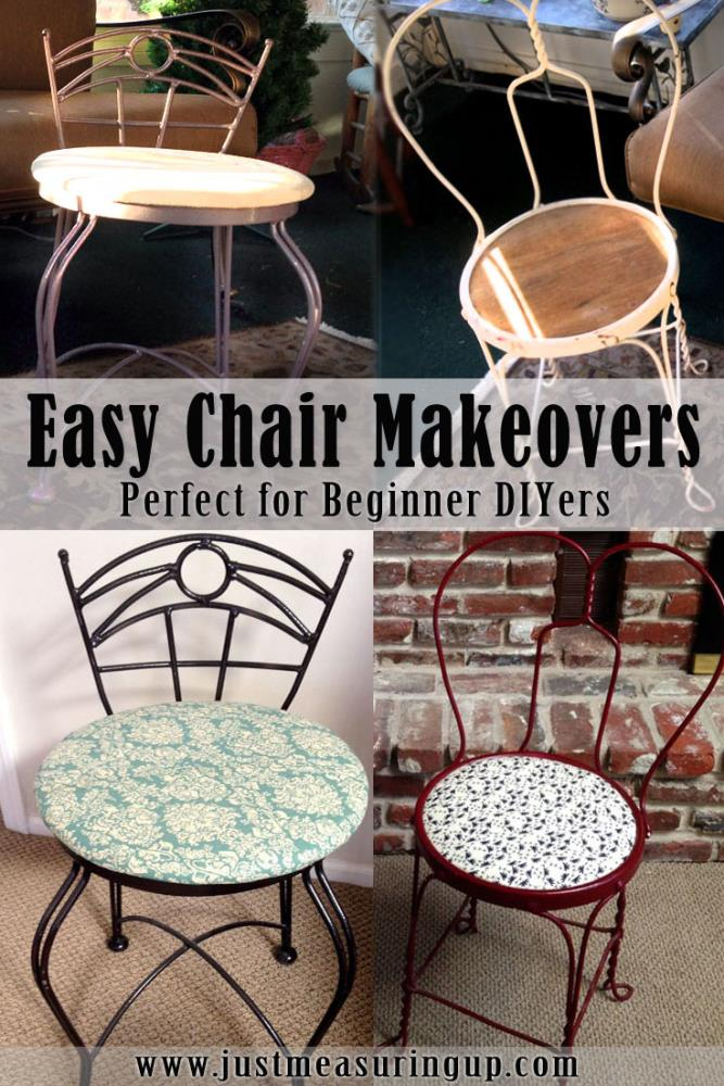 How to Make Over Old Chairs - Simple Instructions