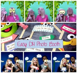 Easy DIY Photo Booth