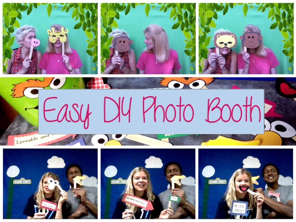 DIY Photo booth for parties