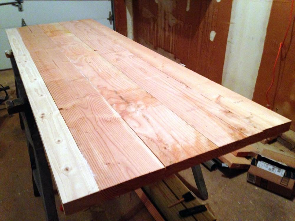 Building the DIY Workbench Tabletop