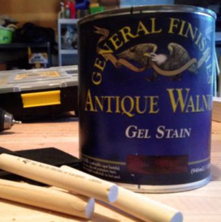 Using General Finishes Gel Stain to Save Thousands on Kitchen Cabinets