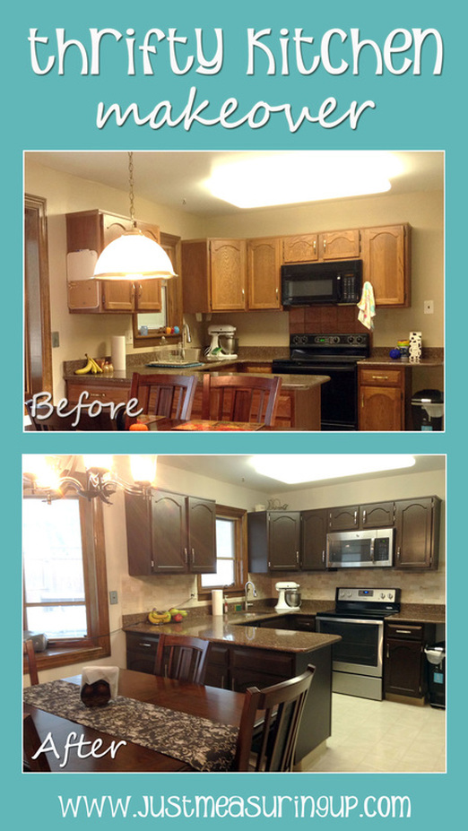 Refinishing kitchen cabinets