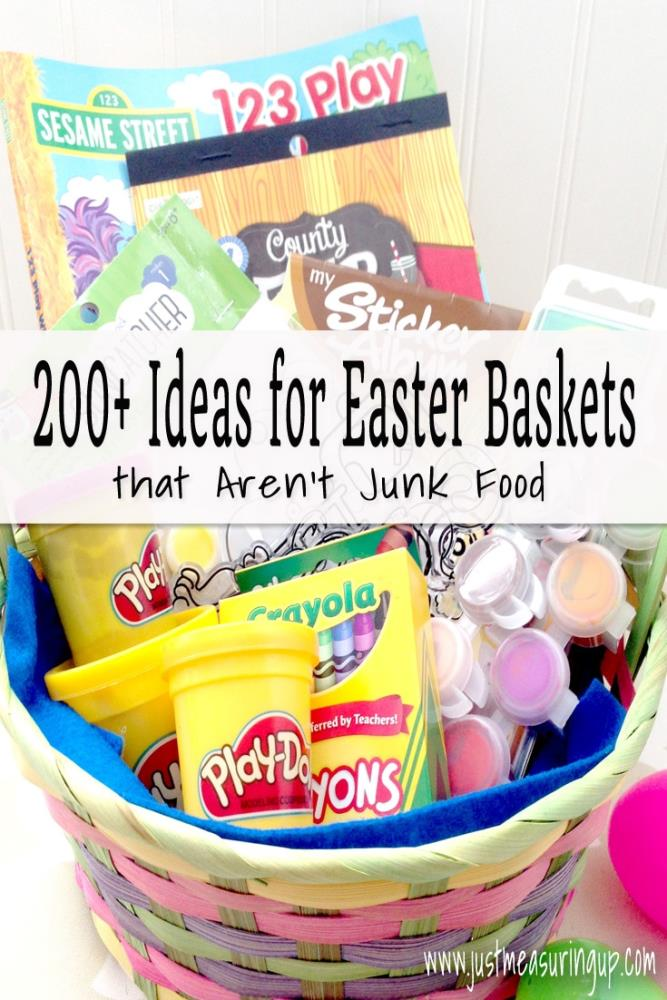 Ideas for Easter Baskets that Are Not Candy