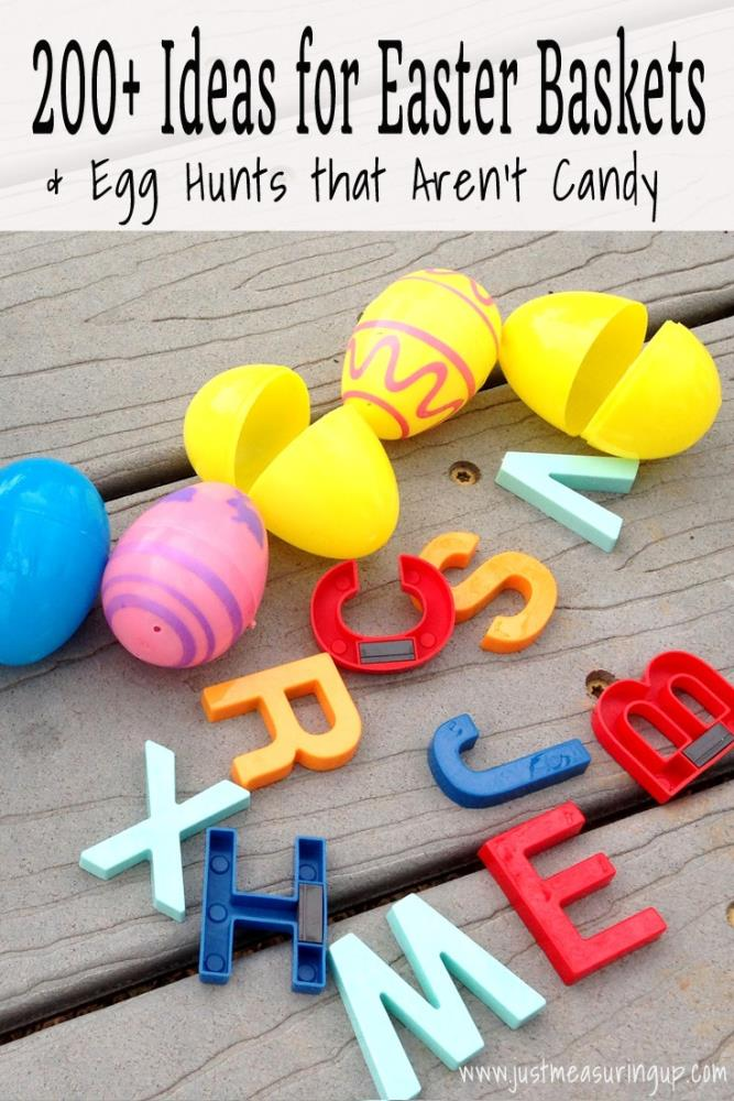 Ideas for Easter Basket and Egg Hunts that Are Not Candy