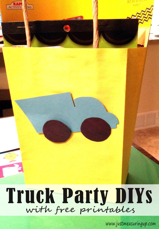 DIY Goody Bags for Truck Parties