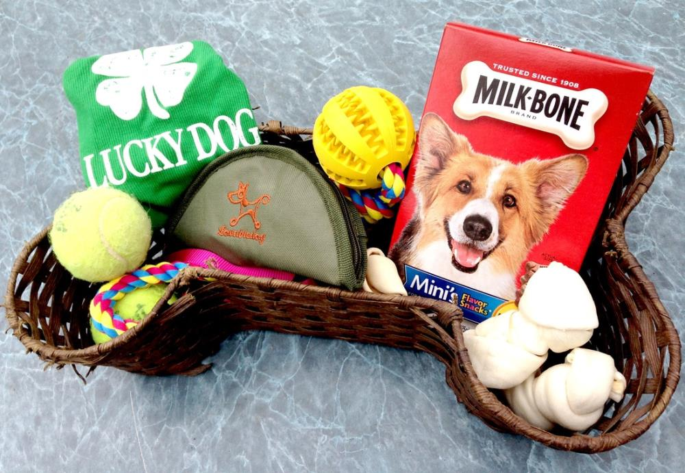 Dog Gift Basket Ideas