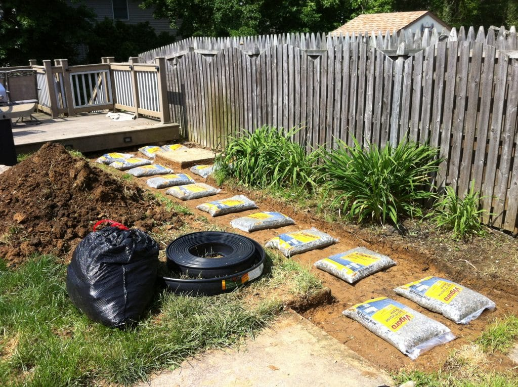 How to DIY a Stone Walkway for the Backyard