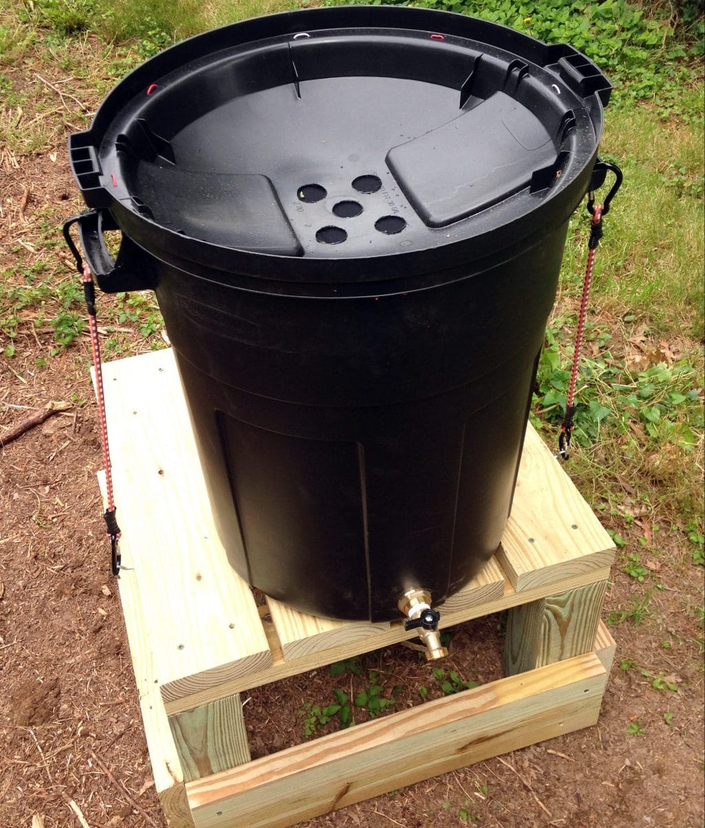 Diy Rain Barrel A Green Way To Conserve Water For Your