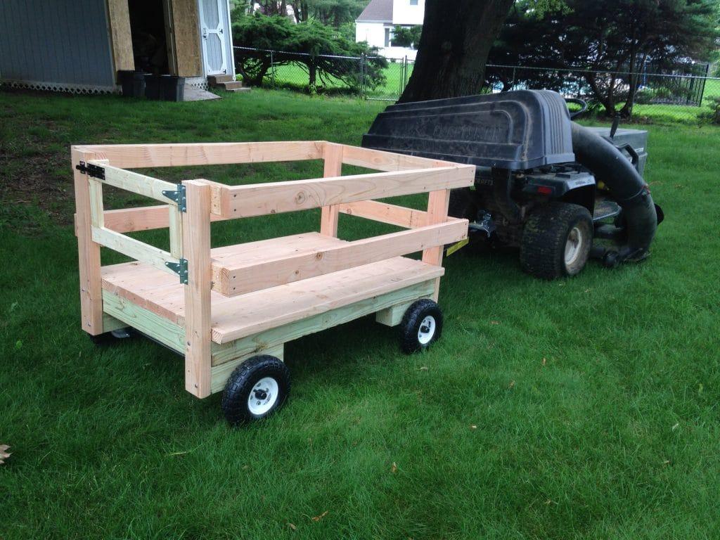 DIY Utility Trailer Cart