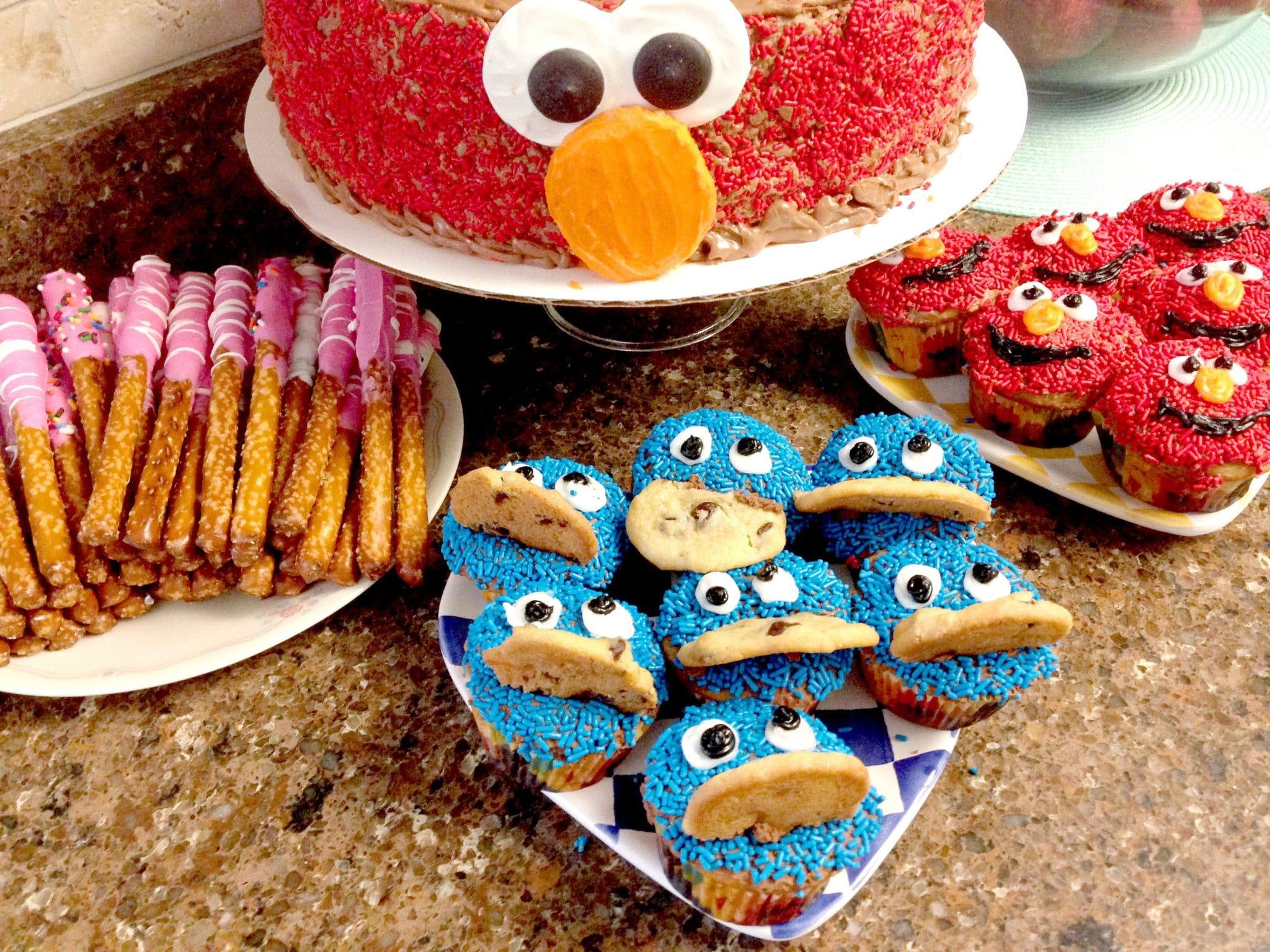 DIY Sesame Street Desserts
