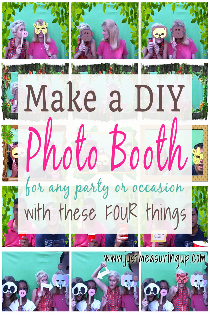 Create A Diy Photo Booth For Parties With Just Four Things