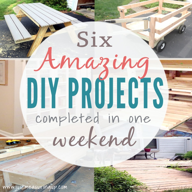 Weekend Diy Projects That You Will Love Six Easy Tutorials