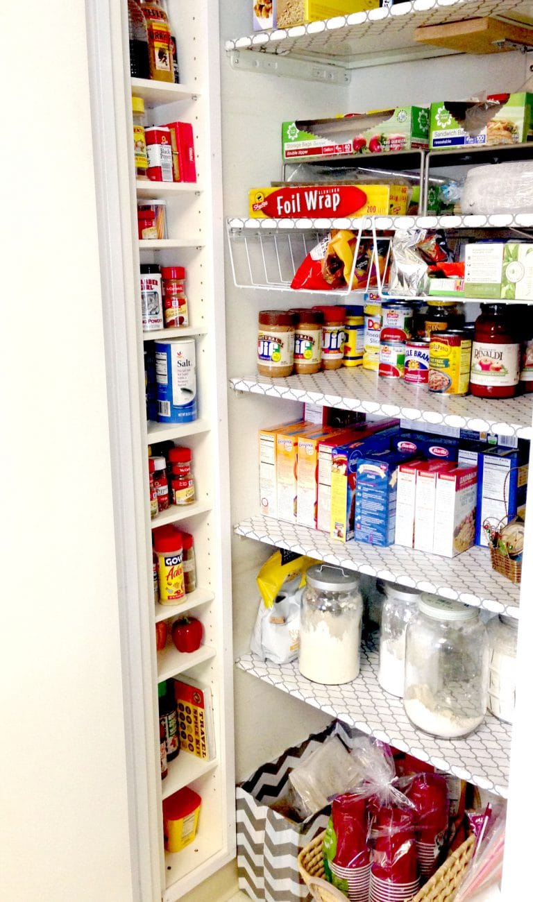 Converting a CD Tower into a Pantry Shelf