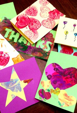 Easy Thank You Cards for Kids to Make