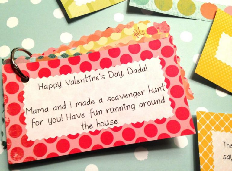 Fun Valentine's Day Scavenger Hunt