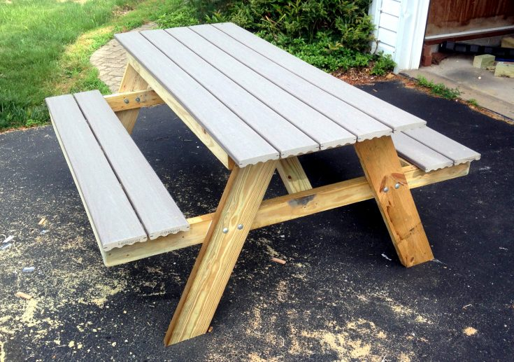 Making a Picnic Table in One Day