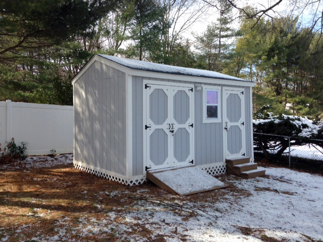 Building a Storage Shed from Scratch