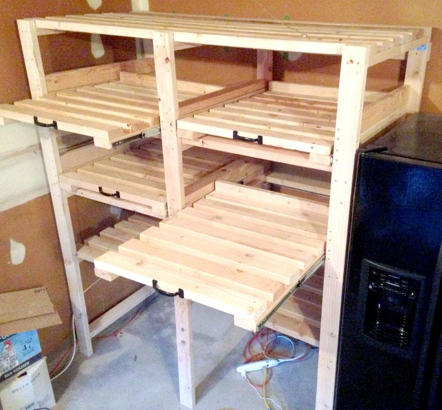 Garage Storage Shelves - Easy Tutorial