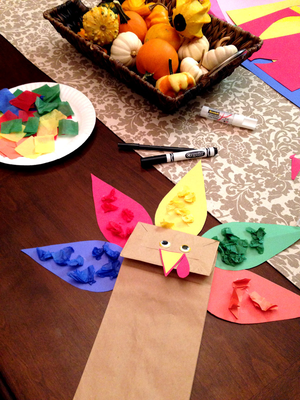Fun Fall Turkey Craft for Toddlers