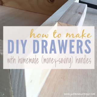How to Build Pull-Out Drawers & Custom Handles
