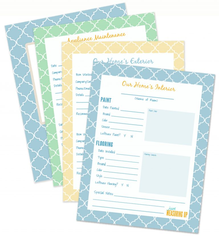 The Secret to Organizing Home Projects & Repairs – Free Printables