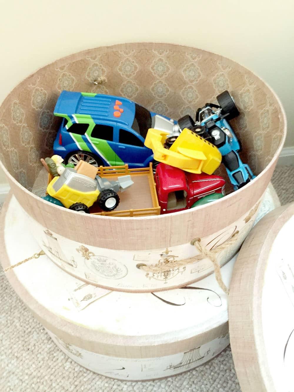 DIY Home Organization Tips - Hidden Toy Storage