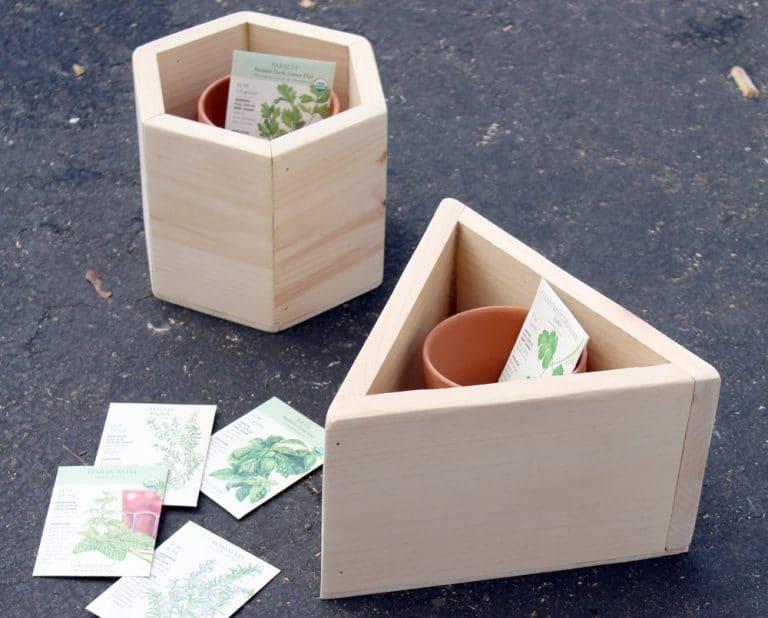 How to Build a Hexagon DIY Planter Box