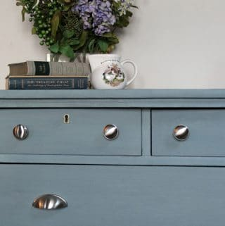 How to Get Amazing Results with Milk Paint on a Dresser