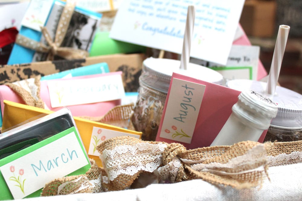 How to Make a Year of Dates Gift Basket
