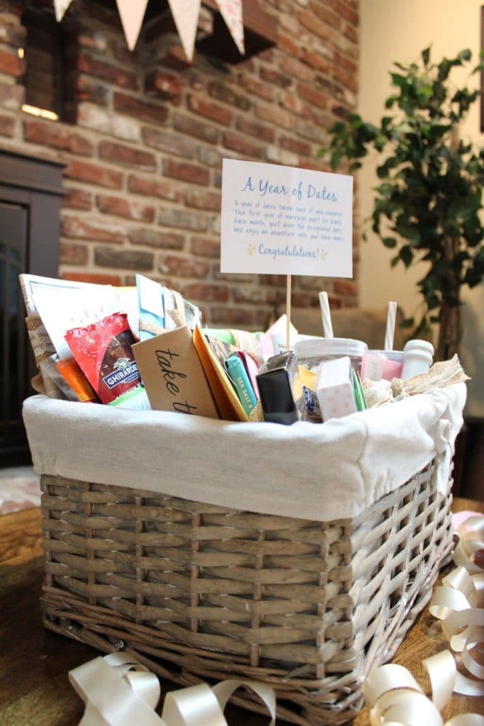 Make a Year of Dates Gift Basket
