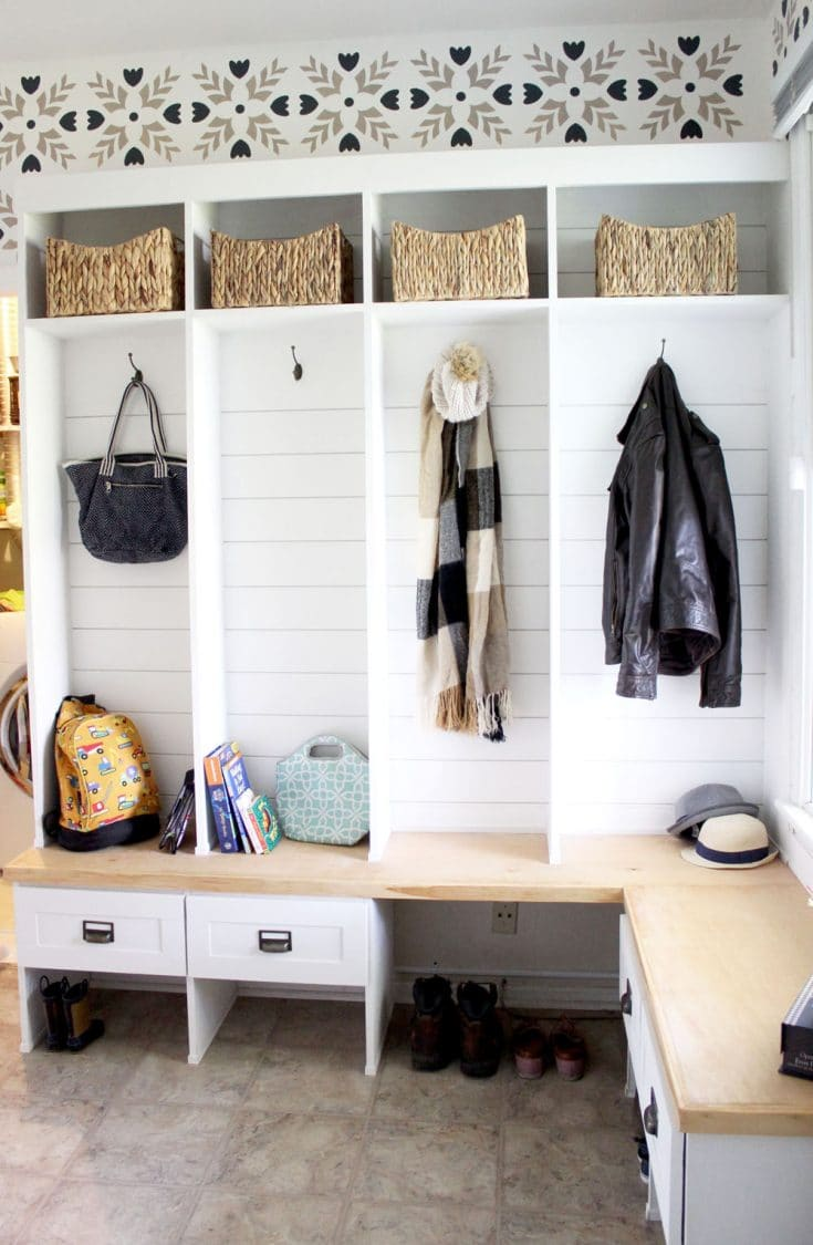 Incredible Mudroom Makeover