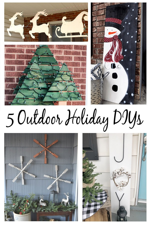 5 Outdoor Christmas Decorations That You Can DIY