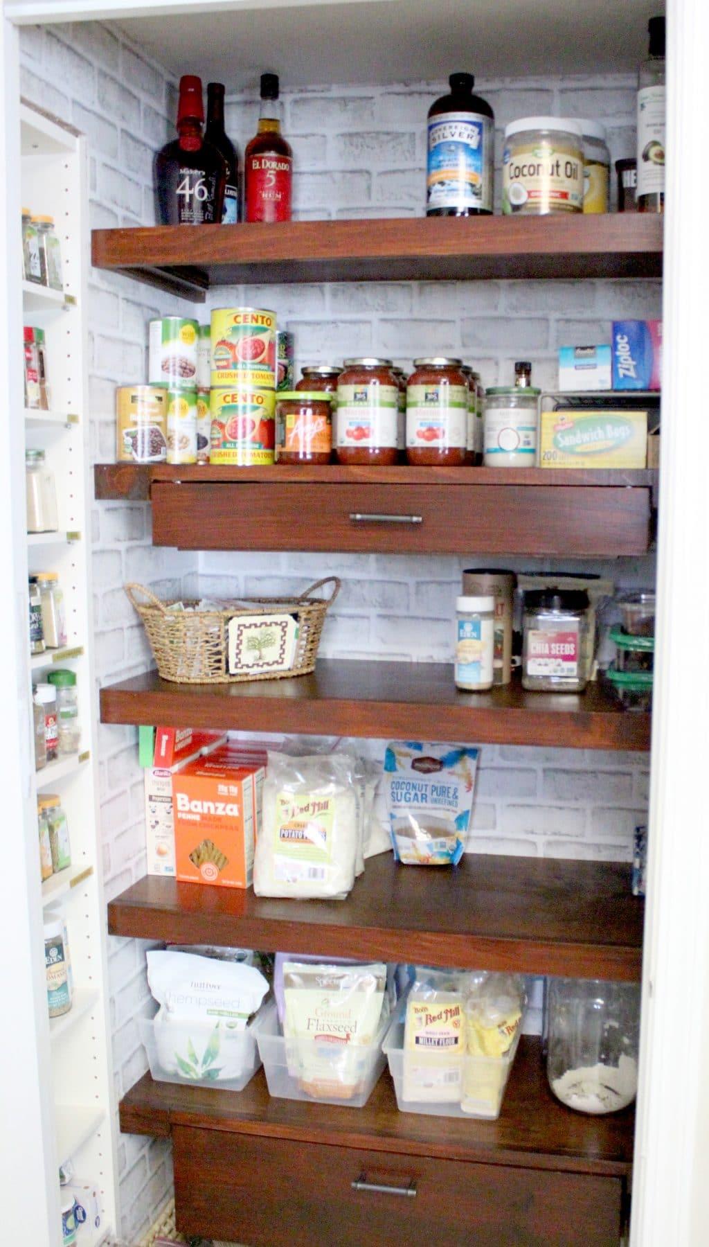 032 Diy Pantry Shelves Just Measuring Up