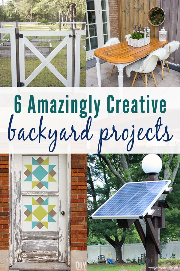 6 Creative DIYs for Any Outdoor Space