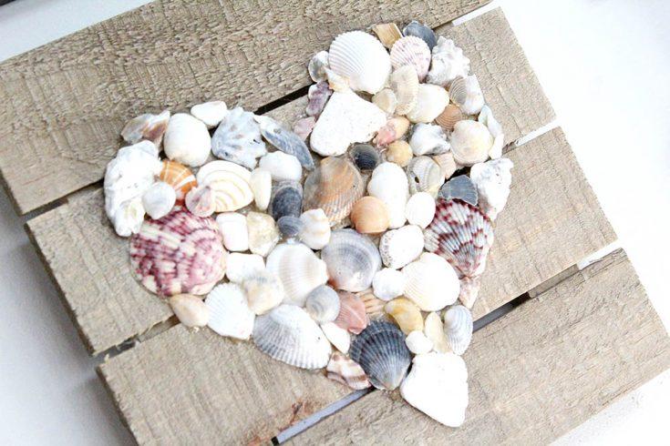 Easy Seashell Wall Hanging