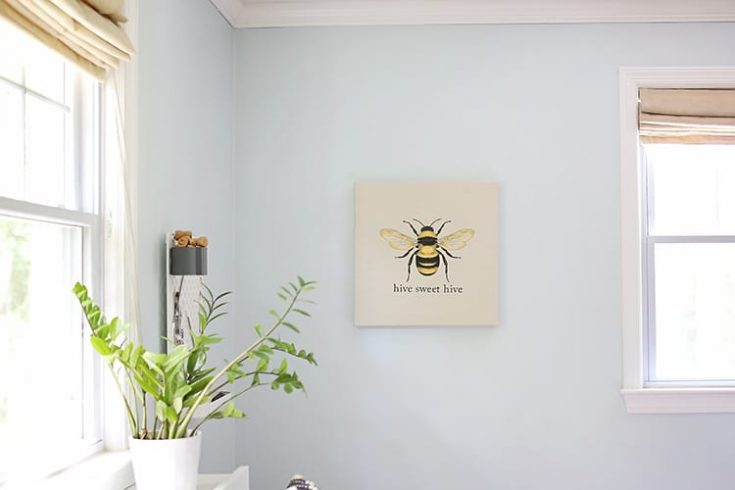 No-Sew Easy Embroidery Wall Art