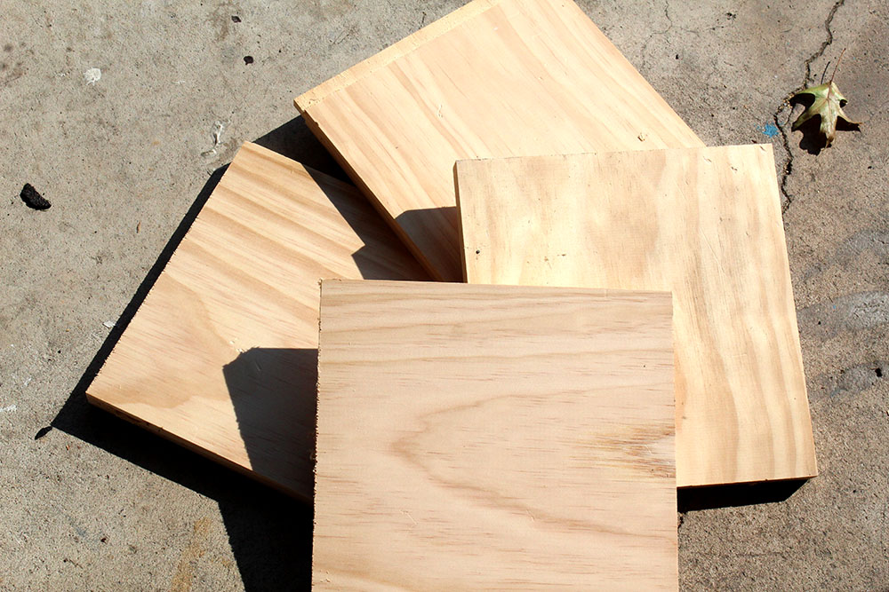 Scrap wood to be made into DIY bookends