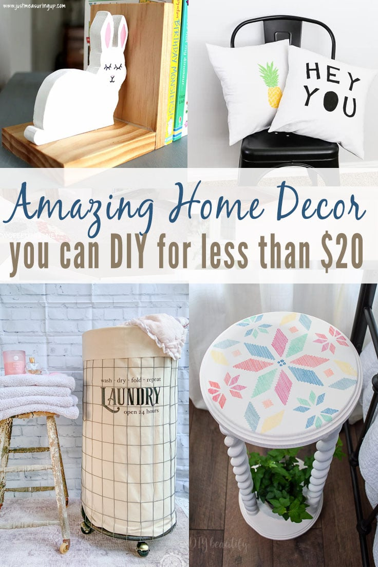 10 Amazing Decor Items You Can DIY for less than $20