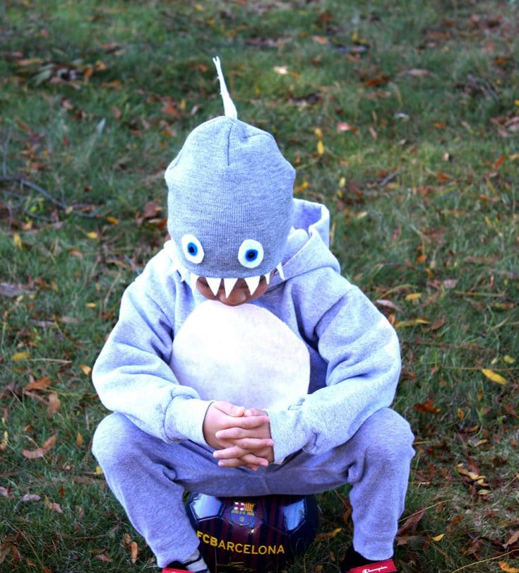 DIY Baby Shark Halloween Costumes for the Family